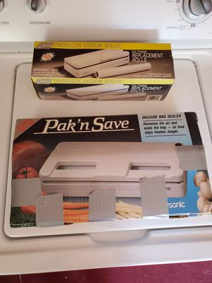 Vacuum bag sealer for Sale in Willoughby, OH