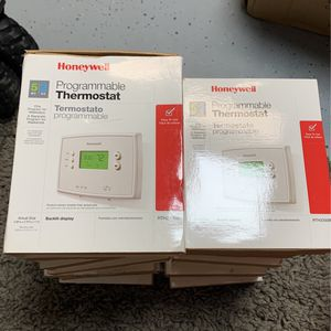 Lot Of 13 -Honeywell Programmable Thermostats for Sale in Oak Hills, CA