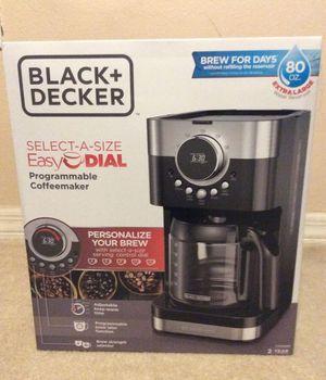 Black + Decker Programmable Coffee Maker for Sale in Altamonte Springs, FL
