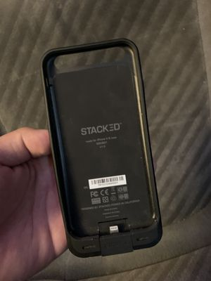 IPhone 6 stacked portable charger case for Sale in Napa, CA