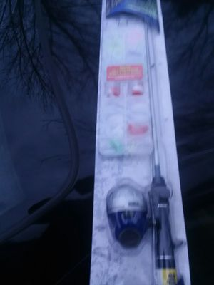 Brand new fishing pole in box Tackle Box included inside of it never open for Sale in Columbus, OH