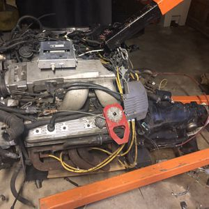 1989 Chevy 5.7 Tune Port 350 Motor And Trans for Sale in Jamesburg, NJ