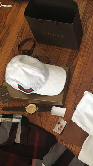 Gucci hat , watch and ruby jewelry !!! for Sale in Boston, MA