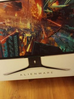 Alien ware 27 Gaming Monitor Brand New Still In Box for Sale in Portland,  OR