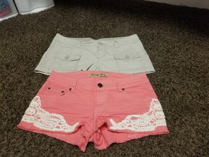 2 Shorts size 7/8 women for Sale in Wildomar, CA