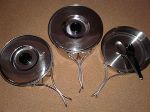 CAMPER MESS KIT by OLICAMP for Sale in Manteca, CA
