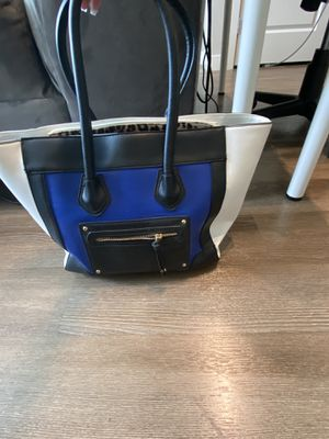 Black/Blue/White Purse for Sale in Malden, MA