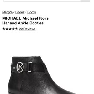 Michael Kors Harland Ankle Booties for Sale in Norwalk, CA