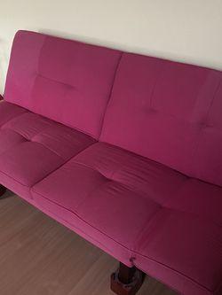 Pink Futon for Sale in Tewksbury,  MA