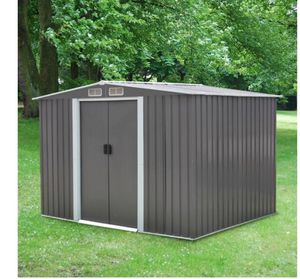 8' x 6' Garden Shed Steel Outdoor Storage Utility Tool Shed Backyard Lawn for Sale in Dallas, TX