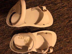Baby Deer White Sandals for Sale in Gregory, MI