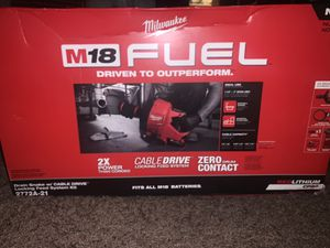 M18 Fuel Drain Snake w cable driver for Sale in San Diego, CA
