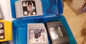 NINTENDO 64 & PS2 VIDEO GAMES for Sale in Meridian, MS
