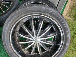 22 inch 6 lug Borghini Wheels for Sale in Cordova, TN