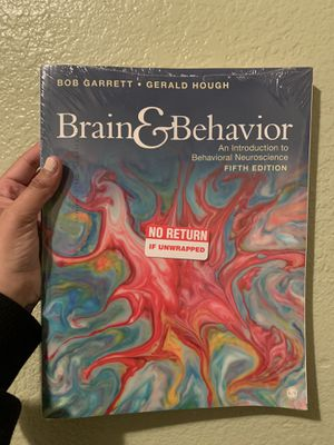 Brain and Behavior An introduction to behavioral neuroscience fifth edition for Sale in Los Angeles, CA
