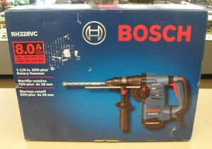 Bosch 8 Amp 1-1/8 in. Corded Variable Speed SDS-Plus Concrete/Masonry Rotary Hammer Drill with Depth Gauge and Carrying Case for Sale in Stickney, IL