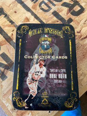 Collectors cards. Babe Ruth baseball cards for Sale in Mesa, AZ