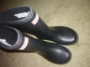 Kids Black Hunter rain boots for Sale in Vallejo, CA