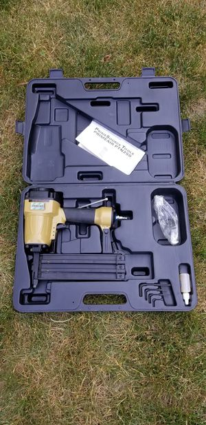Prime Air (Same as Grex) Concrete T Nailer Pneumatic Nail Gun Wood Steel Cement for Sale in Westland, MI