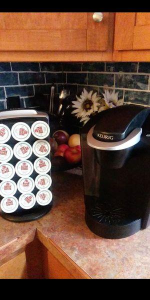 Keurig K-Classic Coffee Maker and keurig coffee display for Sale in Portsmouth, VA