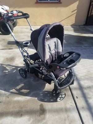 Baby trend sit n stand double stroller for Sale in Lincoln Acres, CA