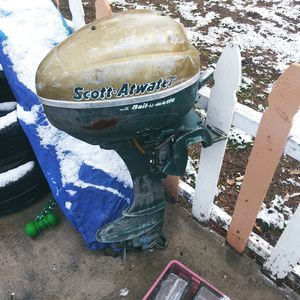 Scott Atwater bailomatic boat motor for Sale in Salt Lake City, UT