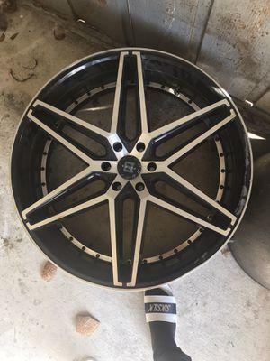 26'rims black for Sale in TWN N CNTRY, FL
