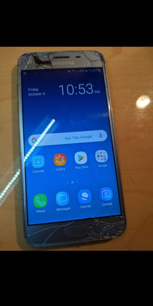 Cricket Back-Up Phone (Samsung Galaxy J3) for Sale in Phoenix, AZ