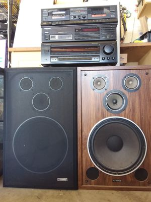 "Pioneer Mix"" Vintage"" Stereo System for Sale in Vacaville, CA"