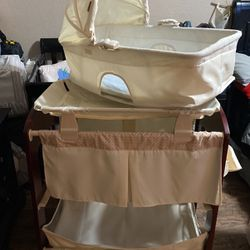 Baby Bassinet with Changing Table for Sale in Garden Grove,  CA