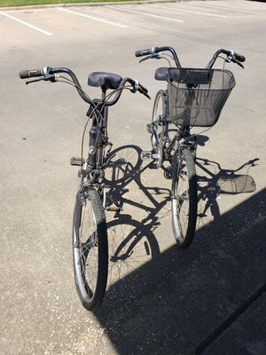 His and her Giant bikes for Sale in Houston, TX