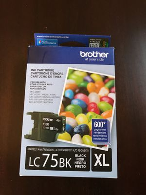 Brother LC75BK High Yield Ink Cartridge for Sale in Tempe, AZ
