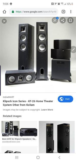 Full 7.1 Klipsch Sound System for Sale in Port St. Lucie, FL