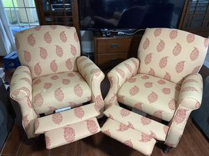 Accent Chair w/ recliner for Sale in Fellsmere, FL