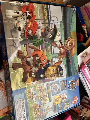 Paw patrol puzzles for Sale in Bell Gardens, CA
