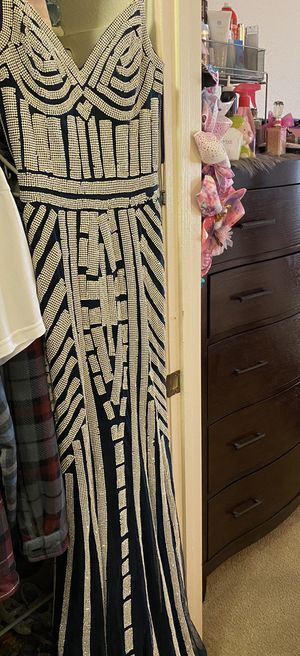 Beautiful sparkling dress new condition for Sale in Corona, CA