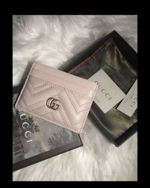 Gucci wallet card case light pink for Sale in Compton, CA