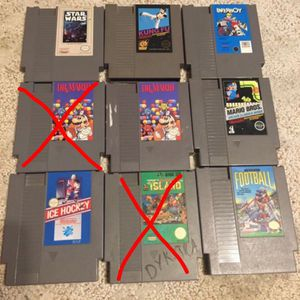 NES Games Prices In Description for Sale in Everett, WA