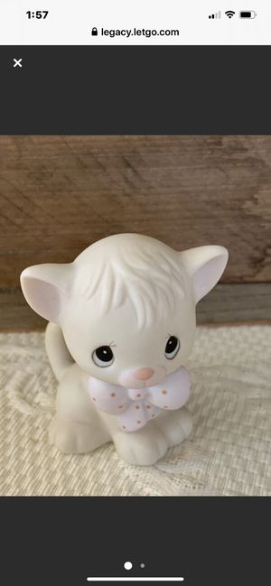 "Precious Moment Porcelain 1982 ""Kitty"" Figurine for Sale in Danville, CA"