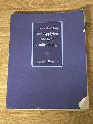 Medical Anthropology Textbook for Sale in Fairfax, VA
