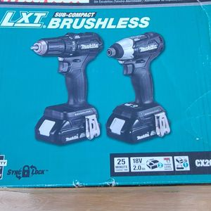 MAKITA LXT 18volt Brushless 2 Piece Combo Kit for Sale in Henderson, NV