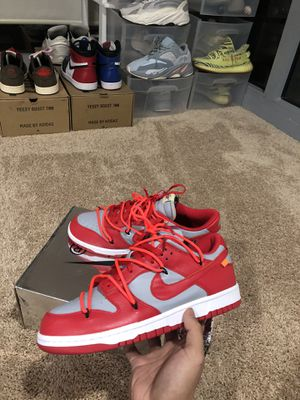 Dunk off white size 10 for Sale in Bethesda, MD
