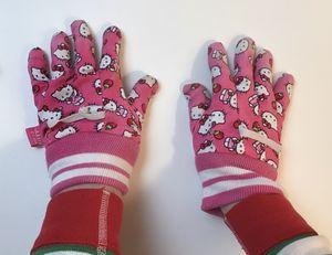 Hello Kitty kids garden gloves, loved❤️ for Sale in Everett, WA