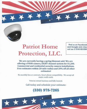 Home security cameras for Sale in Canton, OH