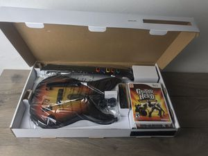 Guitar Hero Wii Guitar & Video Game new for Sale in Pittsburg, CA