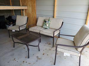 FULL patio set W grill for Sale in Scottsbluff, NE