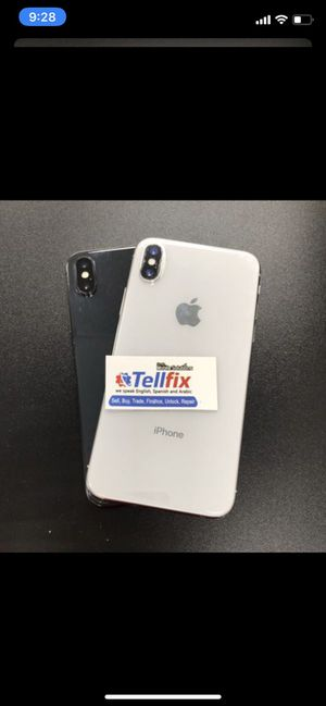 iPhone X 64GB unlocked! for Sale in Tampa, FL
