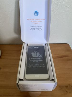 Samsung Galaxy Express 3 *NEW* for Sale in Fowler, CA