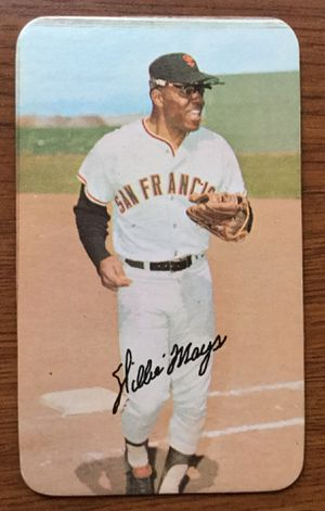 1971 Topps Super Baseball Card of Willie Mays - San Francisco Giants for Sale in North Reading, MA