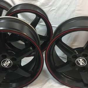 MSW 5x108 17x8 wheels 4 Rims for Sale in Denver, PA